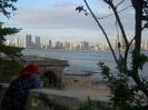 Blick auf Panama City