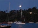 Mondaufgang in der Matauwhi Bay